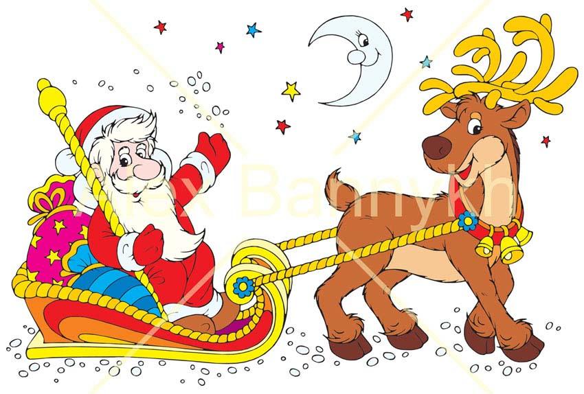 Болезнь Деда Мороза - сценарий для детского сада